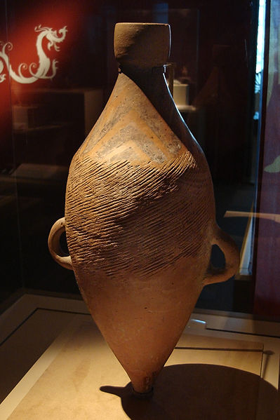 Ancient Chinse water jar, 5000-3000 BC