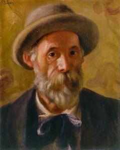 Renoir portrait, 1899
