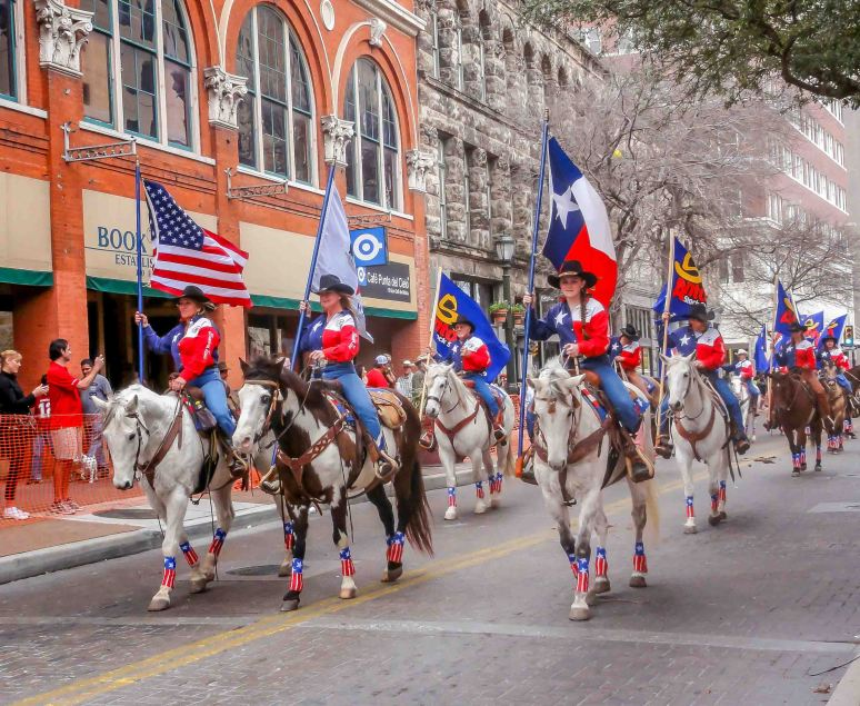 cowgirls parade-9